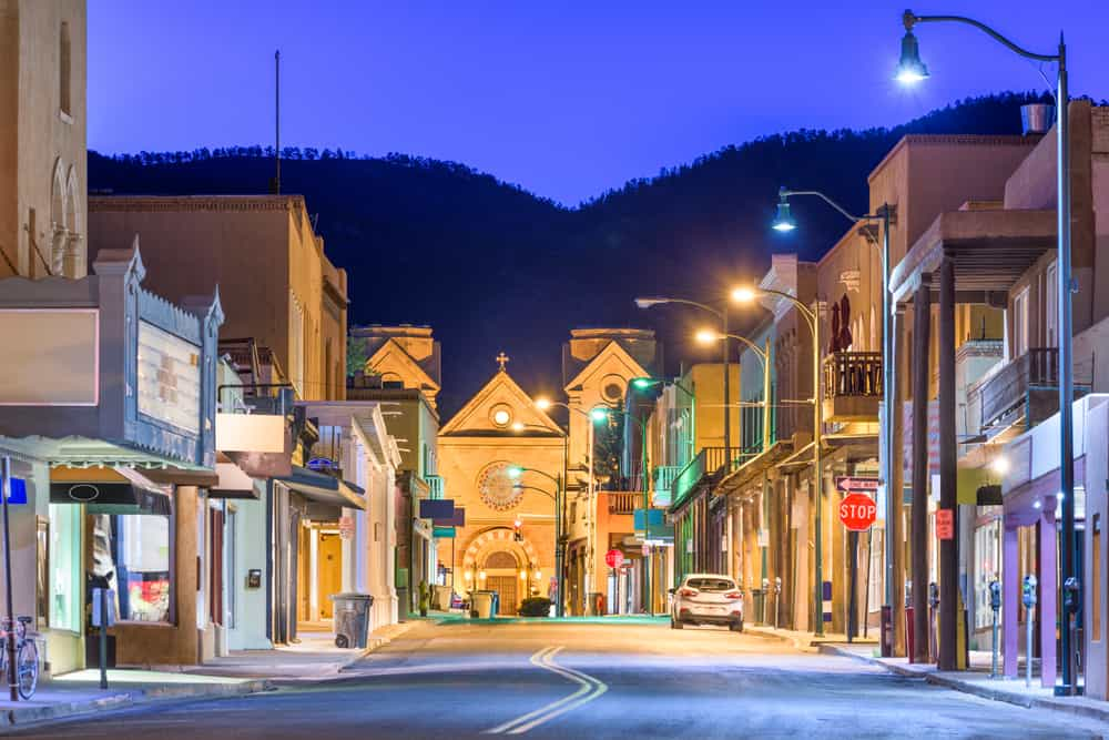 A trip to Santa Fe, New Mexico, will include a look at its charming downtown area. #santafe #newmexico #whereelsetogo #usa
