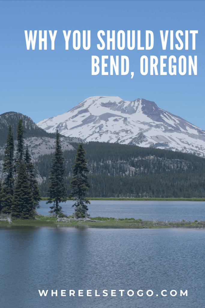 Bend is a great four seasons destinations. If you like Palm Springs, you'll like Bend in the summer. If you like Aspen to ski, you'll like Bend in the winter. If you like Missoula, Montana, you'll like visiting Bend, Oregon, all year round. And let's not forget the great craft beer scene. #oregon #pacificnorthwest #travel #whereelsetogo