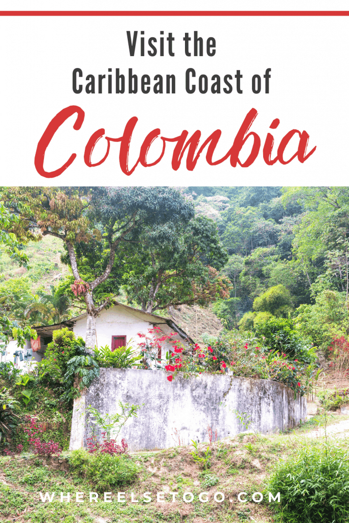 On the Caribbean Coast of Colombia you'll find your hearts stolen by both the beaches and the towns of Santa Marta, Costeño, Tayrona National Park and also Minca, a tiny town tucked away in the Sierra Nevada mountains! #southamerica #caribbean #colombia #whereelsetogo
