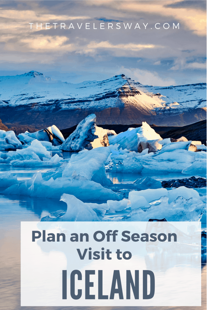 Iceland's tourism is exploding, but most people still visit in the summer high season. Here are tips on how to visit in the off-season. #iceland #europe #whereelsetogo